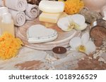chocolate mud for body and face ... | Shutterstock . vector #1018926529