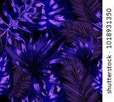 watercolor seamless pattern... | Shutterstock .eps vector #1018931350