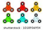 design object spiner | Shutterstock .eps vector #1018936954