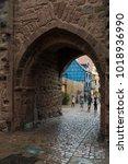 riquewihr  france   january 05  ... | Shutterstock . vector #1018936990