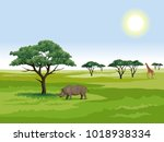 vector graphic illustration  ... | Shutterstock .eps vector #1018938334