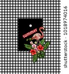 design of pocket of shirt from...   Shutterstock .eps vector #1018974016