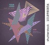 abstract geometric modern...   Shutterstock .eps vector #1018980856