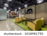 abstract background of offices... | Shutterstock . vector #1018981750