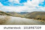 Andean Landscape In Salinas De...