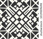 vector seamless pattern. black... | Shutterstock .eps vector #1019009698