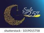 sale off 25  label  beautiful... | Shutterstock .eps vector #1019015758
