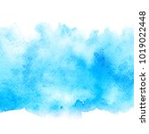 abstract blue water color