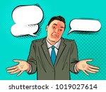 businessman  man in business... | Shutterstock .eps vector #1019027614