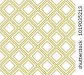 art deco seamless background. | Shutterstock .eps vector #1019035213