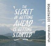 inspiring creative motivation... | Shutterstock . vector #1019039908