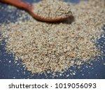 korean food perilla powder | Shutterstock . vector #1019056093