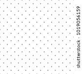 cross pattern seamless black...   Shutterstock .eps vector #1019056159