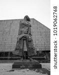 nanjing  china jul 23  statue... | Shutterstock . vector #1019062768