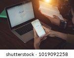 bangkok. thailand. february 4 ...   Shutterstock . vector #1019092258