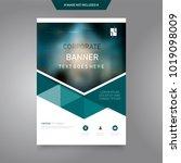 business abstract vector... | Shutterstock .eps vector #1019098009