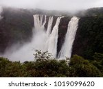jog falls are located in the... | Shutterstock . vector #1019099620