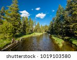 Firehole River In Yellowstone...