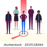 vector business illustration ...