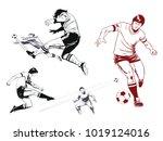 stock illustration. people in... | Shutterstock .eps vector #1019124016