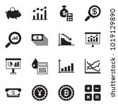 solid black vector icon set  ... | Shutterstock .eps vector #1019129890