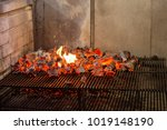 Typical Argentinian Barbecue Or ...