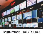 blur image video switch of... | Shutterstock . vector #1019151100