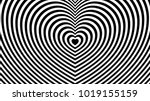 fashionable  abstract black and ... | Shutterstock .eps vector #1019155159