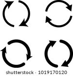 change icon  change raster art... | Shutterstock . vector #1019170120