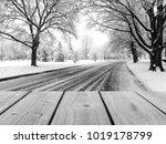 selective focus image of empty... | Shutterstock . vector #1019178799
