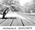 selective focus image of empty... | Shutterstock . vector #1019178979