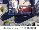 looking down on some auckland... | Shutterstock . vector #1019187058