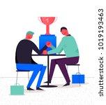 vector business illustration ... | Shutterstock .eps vector #1019193463