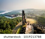 Drone View Of Velha Goa In Goa...