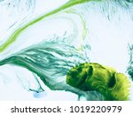 abstract art hand painted... | Shutterstock . vector #1019220979