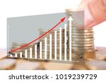 financial concept image | Shutterstock . vector #1019239729