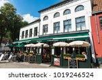 bruges  belgium   september 1 ... | Shutterstock . vector #1019246524