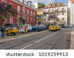 lisbon  portugal   january 1 ... | Shutterstock . vector #1019259913