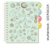 scrapbook design elements  set... | Shutterstock .eps vector #101926114