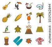 vector illustration with... | Shutterstock .eps vector #1019262844