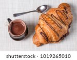 one large swirled puff... | Shutterstock . vector #1019265010