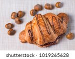 one large swirled puff... | Shutterstock . vector #1019265628