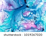 abstract watercolor background. ... | Shutterstock . vector #1019267020
