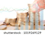 financial concept image | Shutterstock . vector #1019269129