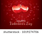happy valentine  s day and ... | Shutterstock .eps vector #1019274706