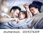 every morning begin with love... | Shutterstock . vector #1019276209
