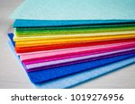 Set Of Colored Fabric