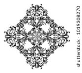 classical baroque vector of... | Shutterstock .eps vector #1019308270