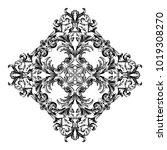 classical baroque vector of... | Shutterstock .eps vector #1019308270