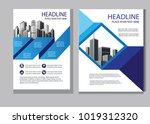 vector design cover book.... | Shutterstock .eps vector #1019312320
